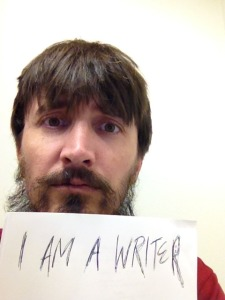 Robin Wyatt Dunn - Horror Selfies - I am a Writer