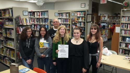 Rose Memorial Library Teen Fiction Group