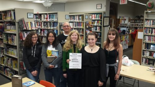 Rose Memorial Library Teen Fiction Group - Horror Selfies