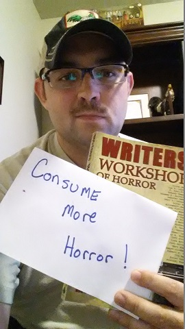 C.R. Langille - Horror Selfies - Consume More Horror