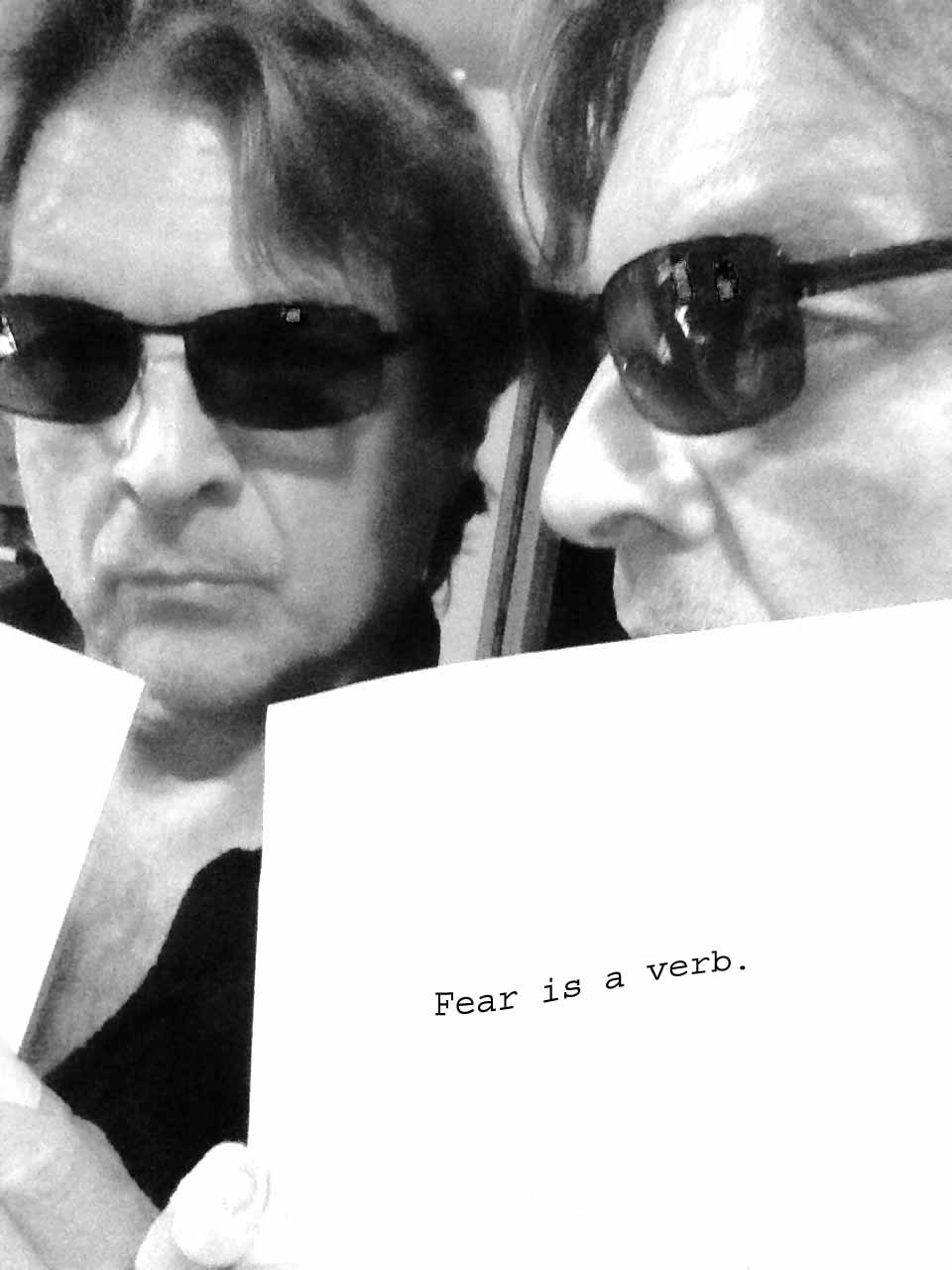 RC Matheson - Horror Selfies - Fear is a Verb.