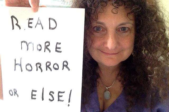 Ellen Datlow - Horror Selfies