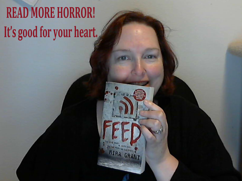 Jennifer Brozek - Horror Selfies - Good for the Heart