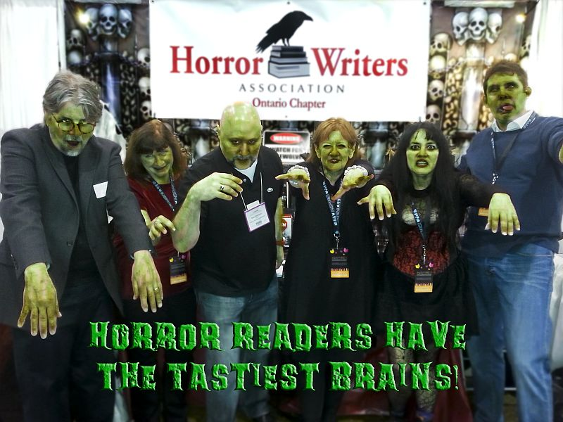 Ontario Chapter of the Horror Writers Association - Horror Selfies - Tasty Brains