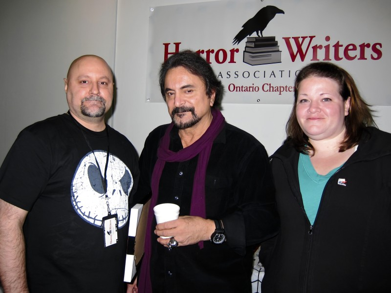 Brad Middleton, Tom Savini, Julianne Snow - Horror Selfies