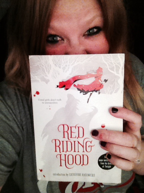 Juss Stinson - Horror Selfies - Red Riding Hood