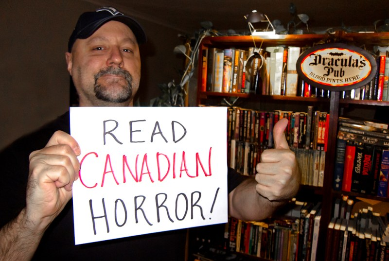 Brad Middleton - Horror Selfies - Read Canadian Horror!