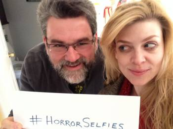 Christopher Golden and Amber Benson - Horror Selfies