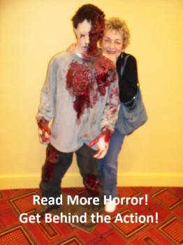 Marge Simon - Horror Selfies - Get Behind the Action!